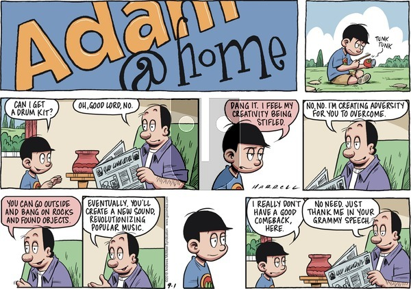 Adam@Home on Sunday September 1, 2019 Comic Strip