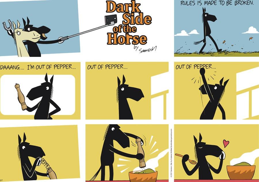 Dark Side of the Horse by Samson on Sun, 07 Feb 2021