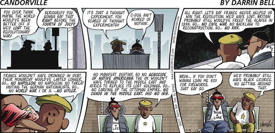 Candorville for Jul 2, 2017 Comic Strip