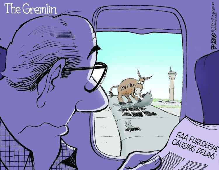 Steve Breen Comic Strip for April 24, 2013