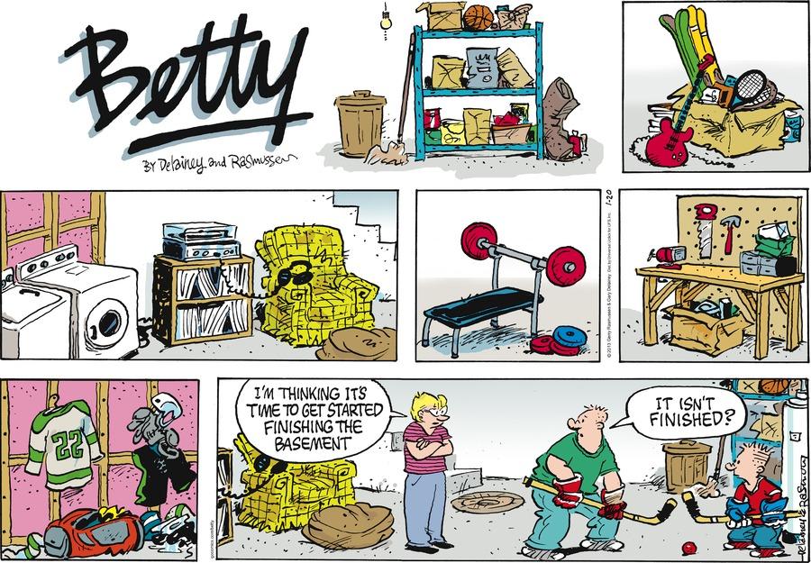 Betty for Jan 20, 2013 Comic Strip