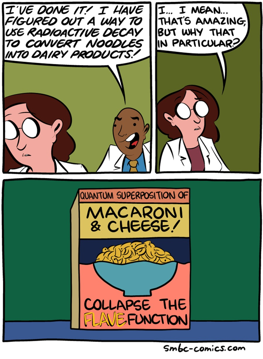 Saturday Morning Breakfast Cereal Comic Strip for November 13, 2016