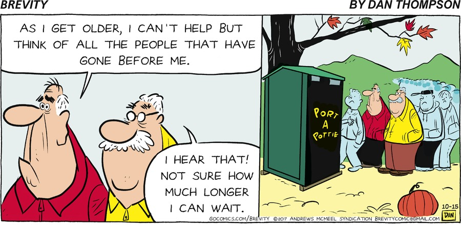 Brevity Comic Strip for October 15, 2017