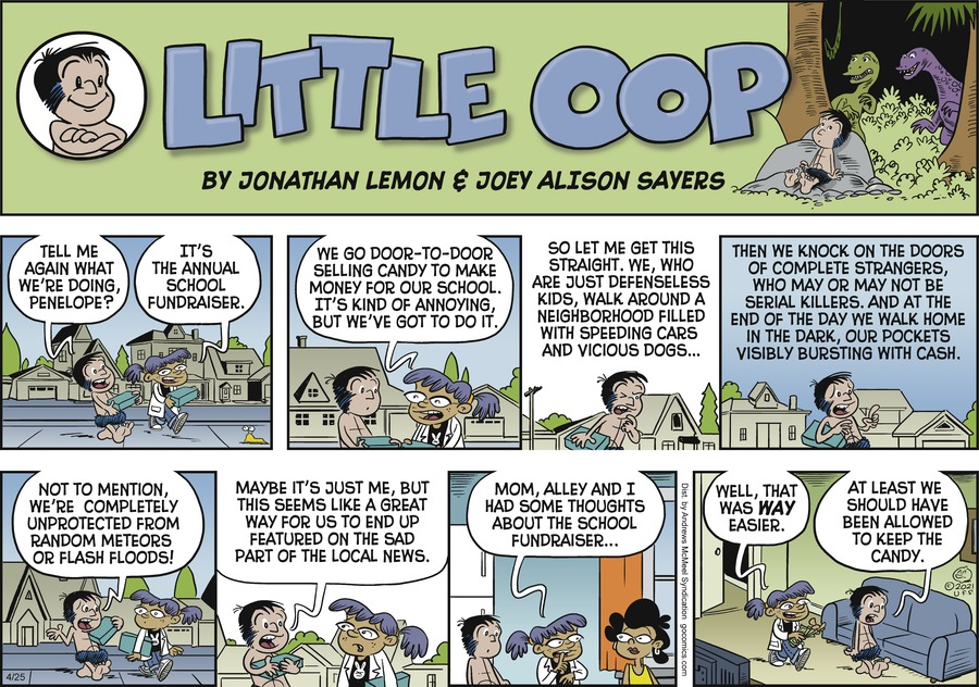 Alley Oop by Jonathan Lemon and Joey Alison Sayers on Sun, 25 Apr 2021