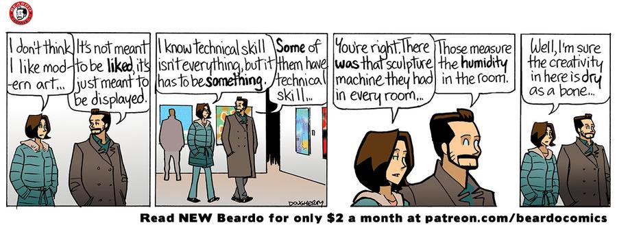 Beardo Comic Strip for June 18, 2021