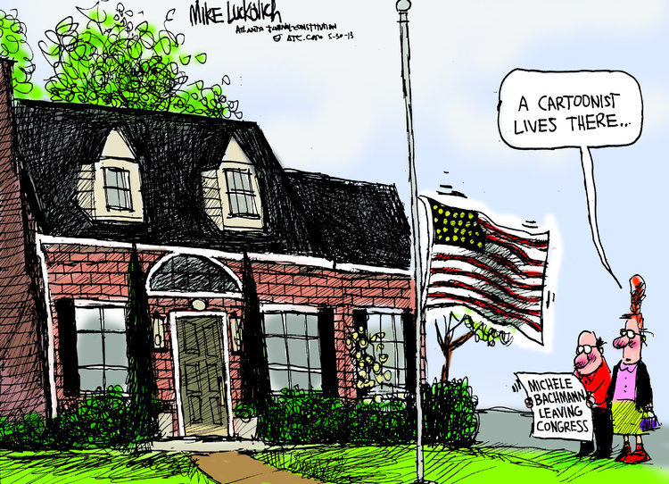 Mike Luckovich Comic Strip for May 30, 2013