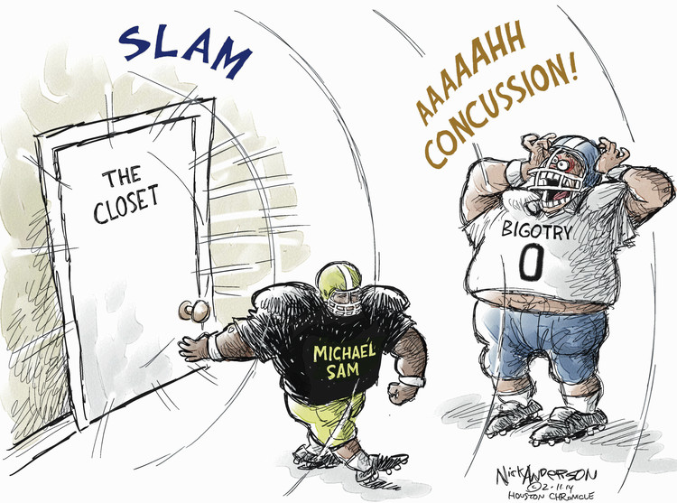 Nick Anderson Comic Strip for February 11, 2014
