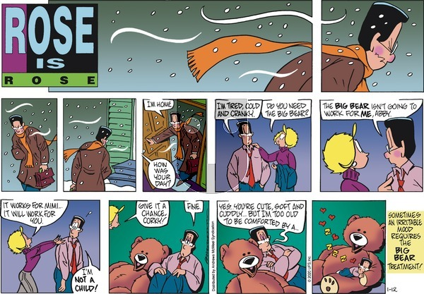 Rose is Rose - Sunday January 12, 2020 Comic Strip