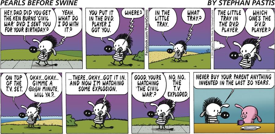 Pearls Before Swine Comic Strip for January 11, 2015