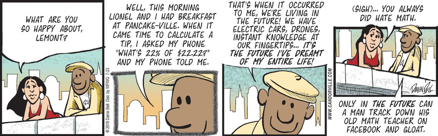 Candorville Comic Strip for July 23, 2019