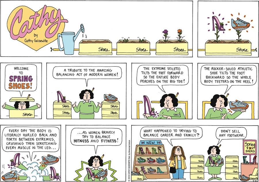 Cathy Comic Strip for March 21, 2010