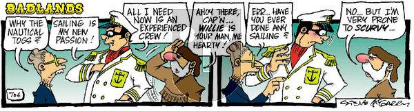 Badlands on Monday February 15, 2021 Comic Strip