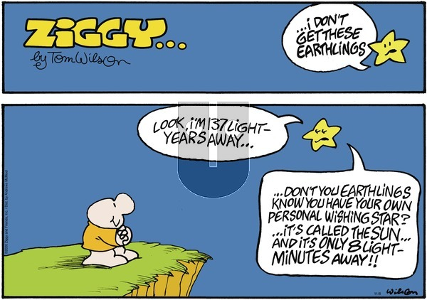 Ziggy on Sunday November 8, 2020 Comic Strip