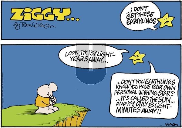 Ziggy on Sunday November 8, 2020 Comic Strip
