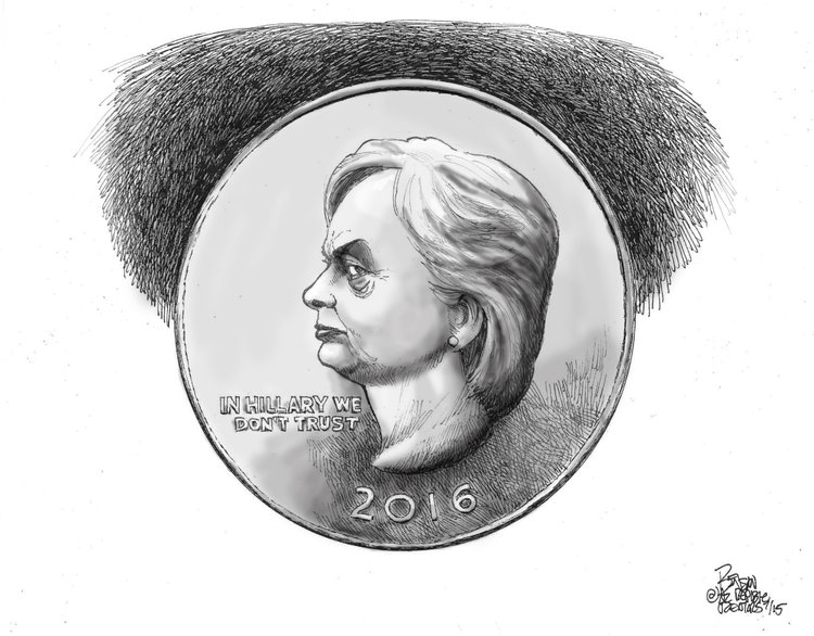 Steve Benson Comic Strip for July 23, 2015