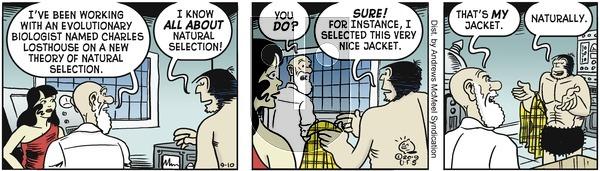 Alley Oop - Tuesday September 10, 2019 Comic Strip