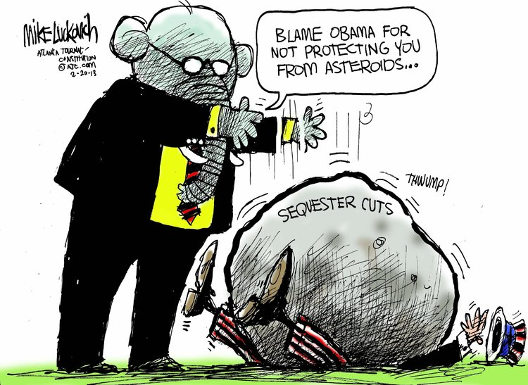 Mike Luckovich Comic Strip for February 20, 2013