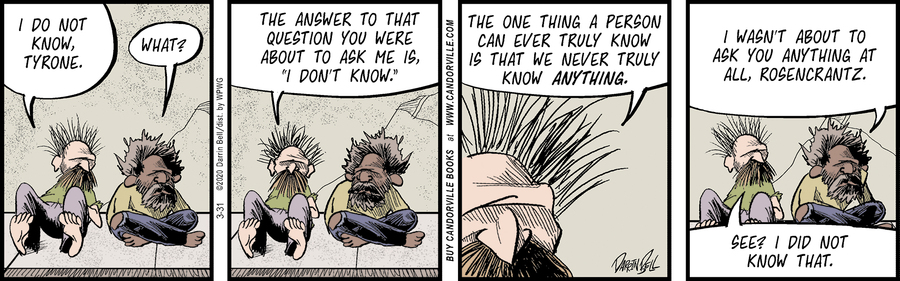 Candorville Comic Strip for March 31, 2020
