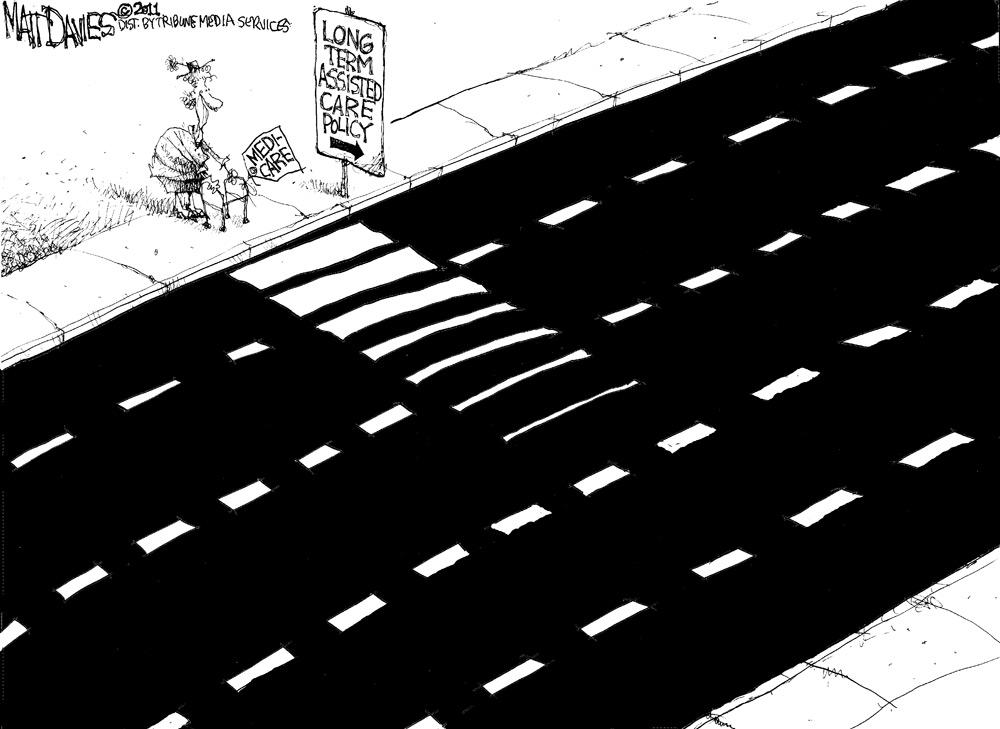 Matt Davies Comic Strip for October 19, 2011