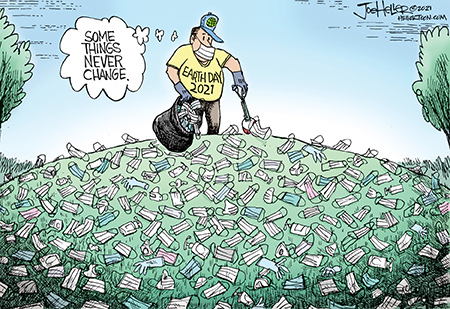 Joe Heller Comic Strip for April 22, 2021