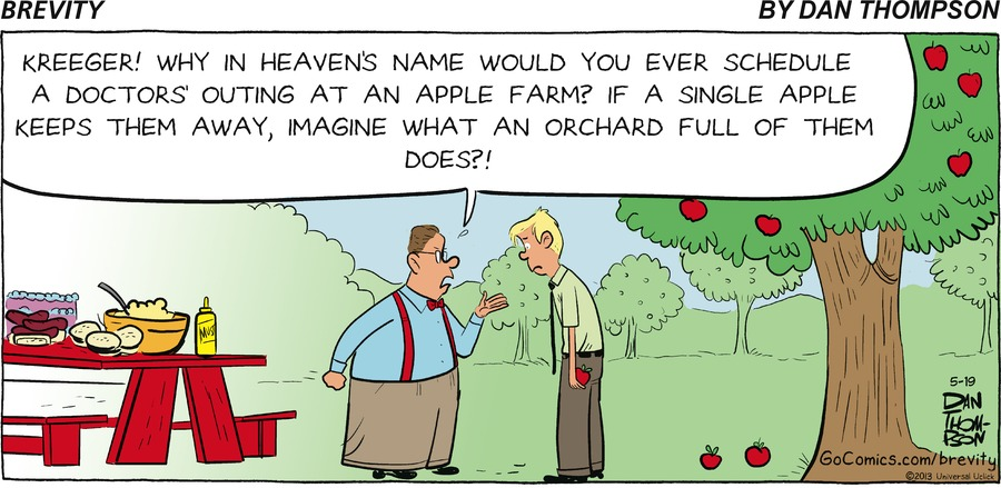 Brevity for May 19, 2013 Comic Strip