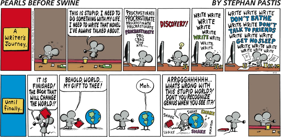 Pearls Before Swine Comic Strip for April 13, 2014