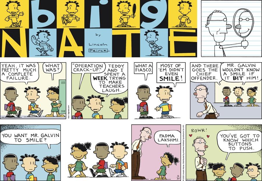 Big Nate Comic Strip for May 31, 2020