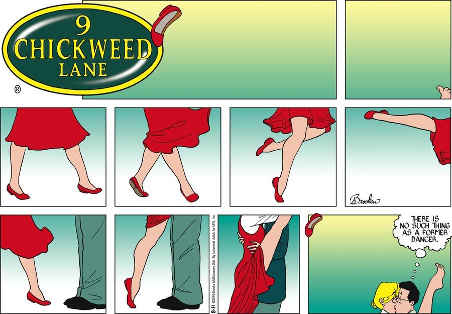 9 Chickweed Lane for Aug 31, 2014 Comic Strip