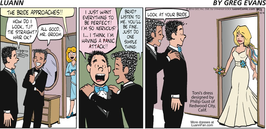 Luann Comic Strip for December 04, 2016