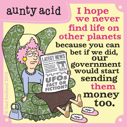 Aunty Acid for Apr 19, 2015 Comic Strip