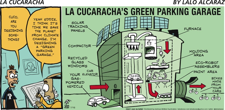 La Cucaracha Comic Strip for July 16, 2017