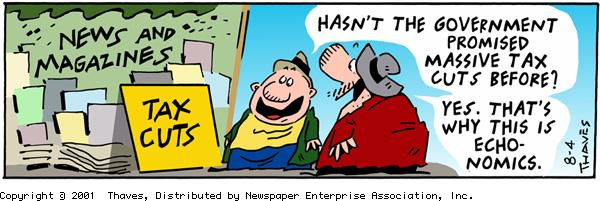 Frank and Ernest Comic Strip for August 04, 2001