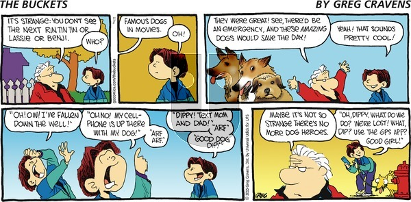 The Buckets on Sunday November 8, 2015 Comic Strip