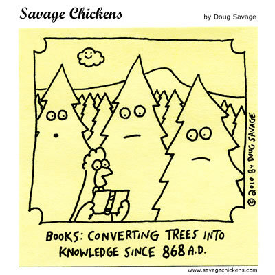 Savage Chickens Comic Strip for September 12, 2014