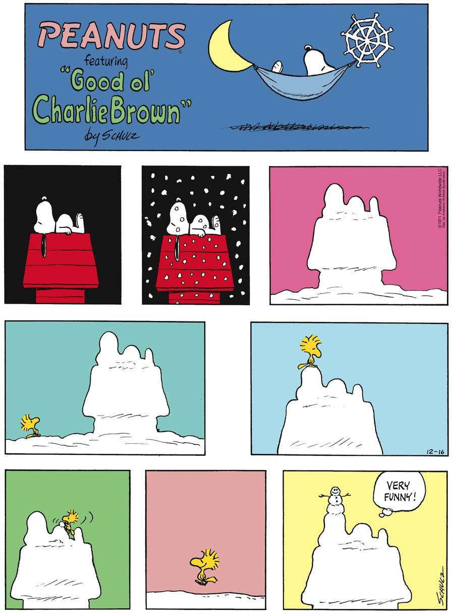 Peanuts by Charles Schulz for December 16, 2018