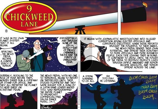 9 Chickweed Lane on Sunday September 17, 2017 Comic Strip
