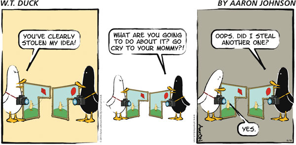 W.T. Duck Comic Strip for December 16, 2018