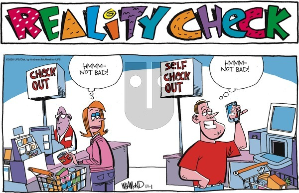 Reality Check - Sunday November 1, 2020 Comic Strip