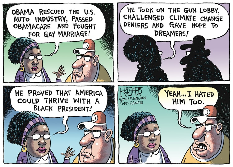 Rob Rogers Comic Strip for January 22, 2017