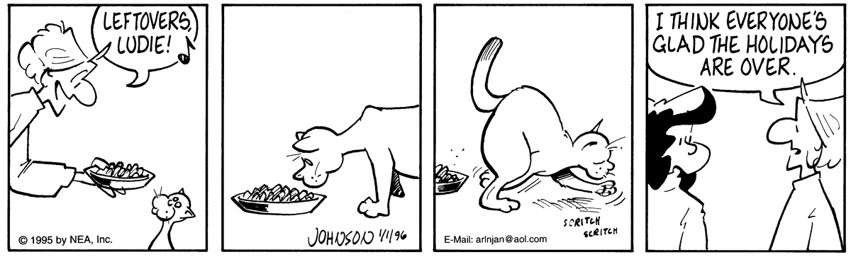 Arlo and Janis for Jan 1, 1996 Comic Strip
