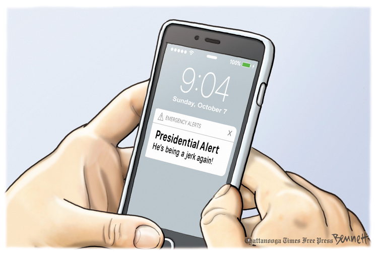 Clay Bennett Comic Strip for October 07, 2018