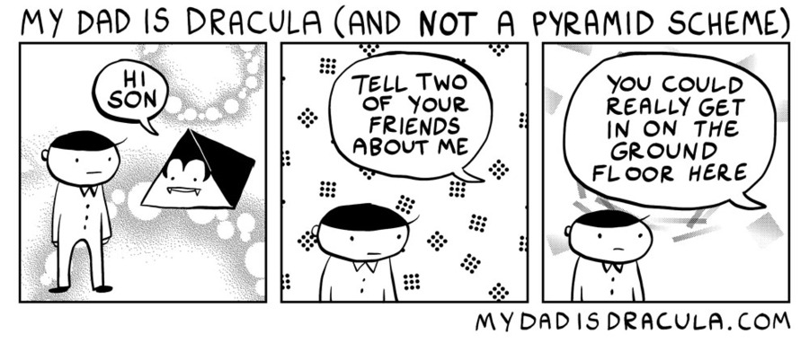 My Dad is Dracula Comic Strip for May 22, 2020