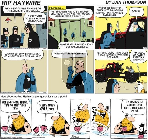 Rip Haywire on Sunday November 8, 2020 Comic Strip
