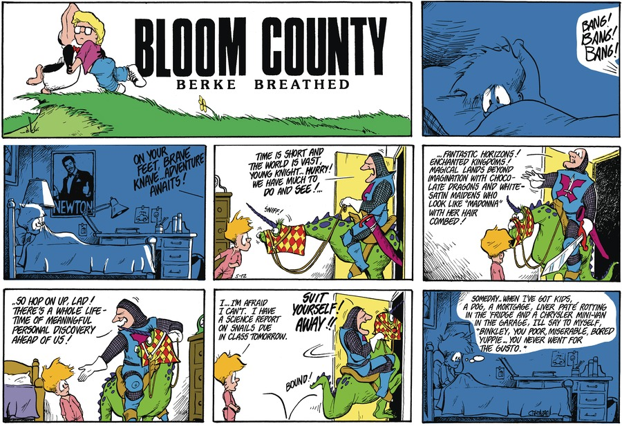 Bloom County Comic Strip for May 04, 2021