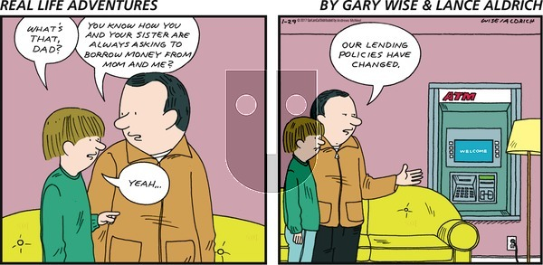 Real Life Adventures on Sunday January 29, 2017 Comic Strip