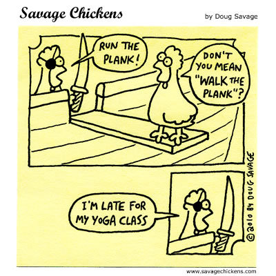 Savage Chickens Comic Strip for September 17, 2014