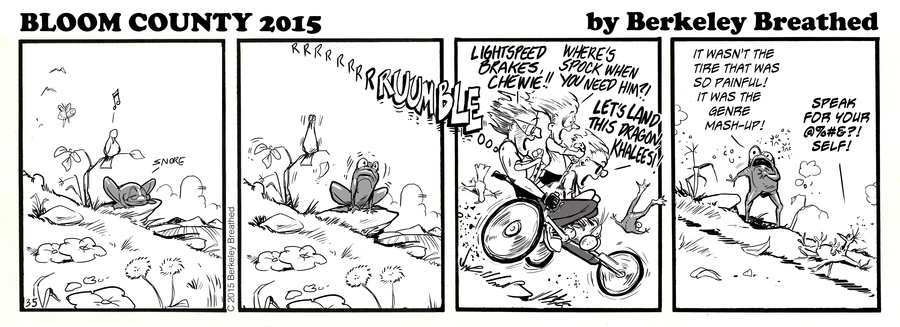 Bloom County 2018 Comic Strip for September 02, 2015
