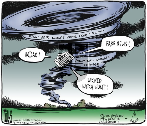 Tom Toles on Sunday May 5, 2019 Comic Strip