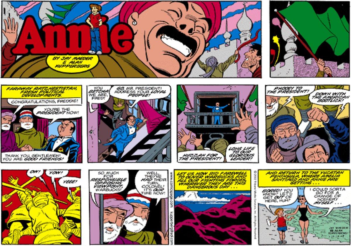 Annie for Sep 15, 2013 Comic Strip