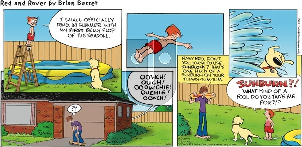 Red and Rover on Sunday June 22, 2014 Comic Strip